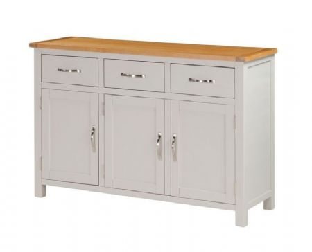 "hartford painted 3 door sideboard  ""120 cm wide"""